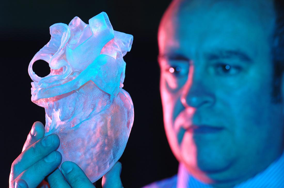 Ludzkie serce z drukarki 3D