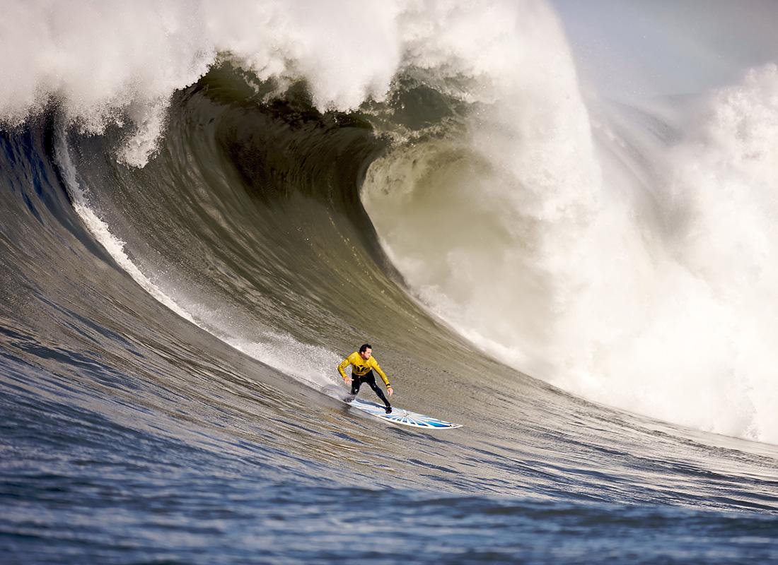 Surfing w słońcu