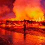 10 zapierających dech w piersiach zdjęć z erupcji wulkanu Bardarbunga