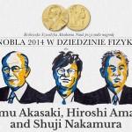 Nobel 2014 z fizyki za świecące na niebiesko diody