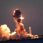 NASA: Eksplozja rakiety tuż po starcie