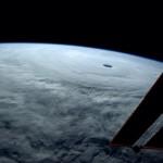 Najpotężniejszy tajfun 2014 roku widziany z kosmosu