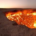 Wrota do Piekła znajdują się na Ziemi. A dokładnie w Turkmenistanie