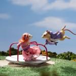 Czy myszy lubią kręcić się w kołowrotku?