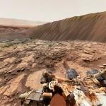 Marsjański Street View z ogromną wydmą w kadrze – zobacz niezwykłą panoramę