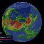 Poziom zanieczyszczenia na żywo na interaktywnej mapie 3D