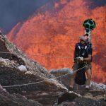 Z Google Street View do wnętrza czynnego wulkanu